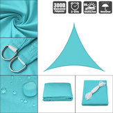 300D 160GSM Heavy Duty Sun Shade Sail Waterproof UV Jardin Patio Auvent Auvent Tente Parasol Abri Camping En Plein Air