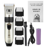 Pet Cat Dog Capelli Trimmer Clipper Set Kit di rasatura professionale ricaricabile per macchina da barba Capellicut
