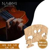 NAOMI Grooved GDAE Violin Bridge Wybrany most klonowy klasy AA w stylu francuskim do skrzypiec 4/4