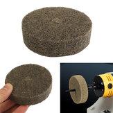 Roue de polissage de roue de polissage de polisseur de fibre de 3 pouces 75mm Nylon