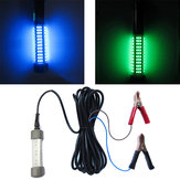 ZANLURE 12V 14W 72Beads LED Underwater Fishing Light Boat Night Green/Blue/Yellow Light Fishing Lamp