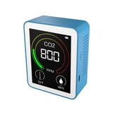 CO2 Detector Air Quality Detector Intelligent Air Detector Portable Temperature And Humidity Meter Air Quality Tester Carbon Dioxide Monitor