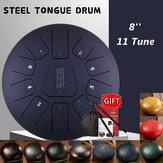 Стальной барабан с 8-дюймовым языком до мажора 11-тубусный инструмент барабанного барабана с ручкой C