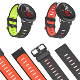 22mm Double Colors Silicone Watch Strap Replacement Bracelet Band For Xiaomi Huami Amazfit  Non-original