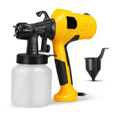 400W 800ml 2.5mm High Voltage Electric Paint Spray Guns Portable Detachable Paint Tool
