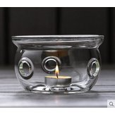 Thickened Heat-resistant Glass Tea Set Teapot Heater Insulation Base Heating Base Warm Tea Warmer