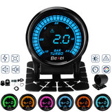 2 '' 52mm Coche Medidor de presión Turbo Boost Digital LED Pantalla con Sensor 2 BAR