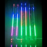 LED-Rhythmuslicht 60 Segmente DIY Electronic Satz Sprachsteuerung und Drive-by-Wire-Musikspektrum Satz 375 mm * 50 mm