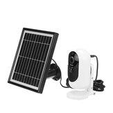 1080P biztonsági Wifi IP kamera újratölthető akkumulátor   napelemes töltés