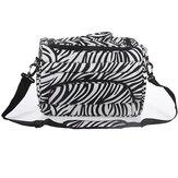 Strumenti di capelli parrucchiere zebra caso borsa per pannolini duffle carry