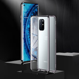 Bakeey for OnePlus 8T Case 360º Magnetic Flip Touch Screen Double-Sided 9H Tempered Glass + Metal Full Body Protective Case
