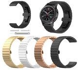 Bakeey 22mm Relógio de Aço Inoxidável de Substituição Banda para Samsung Relógio Inteligente S3 R380 R381 R382