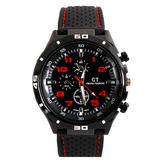 GT 54 GRAND TOURING Siliconen Band Quartz Analog Sport Horloge