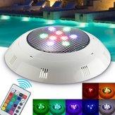 9W RGB Afstandsbediening LED Zwembad Licht Onderwater Waterdicht Nachtlampje Sfeerlicht Licht