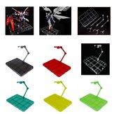 HG 1/144 Action Figure Standı Base Tutucu RG SD Robot SHF Tamashii Modelleri Süslemeleri Için Fit