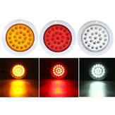 24 LED'er 10-30V Vandtæt Indikatorstop Baglygter Til Motorcykel Bil ATV Både