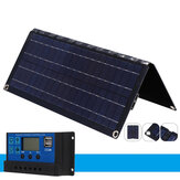 20W Monocrystalline Solar Panel with Controller Foldable Rechargeable Portable Solar Panel for Outdoor Camping Mountains