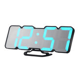 Loskii HC-26 3D Colorful LED Digital Clock Remote Control Temperature Alarm Clock