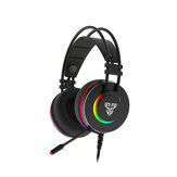 FANTECH HG23 Game Headphone 7.1 Surround Sound RGB USB Wired Bass Gaming Headset with Mic for Computer PC PS4 Gamer