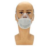 Anti Poeira Face Máscara Boca PM2.5 Respirador Anti Névoa Haze com Filtro KN95 Eletrostático