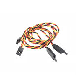 Universal Anti-interference Servo Extension Cable Wire with Anti-off Hook 10CM 15CM 20CM 25CM 30CM for RC Airplane
