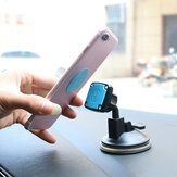 Bakeey ™ Universal Magnetic Car Mount Dashboard Sucker Holder Stand pour iPhone Samsung Xiaomi
