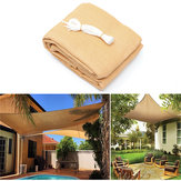 3x3M/4M280gsmHDPEUV Sun Shade Sail Cloth Canopy Outdoor Patio Square Rectangle Awning Shelter