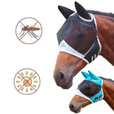 Mesh Horse Anti-Mosquito Mask Horse Head Cover Summer Breathable Anti Fly Mesh Mask For Farm Animal Supplies