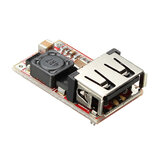 DC-DC Buck Module 6-24V 12V/24V to 5V 3A USB Step Down Power Supply Charger Efficiency 97.5%