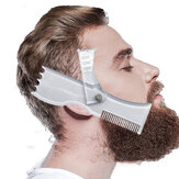 New Beard Shaping Tool Trimming Shaper Template Comb