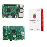 Raspberry Pi 3 Model B ARM Cortex-A53 CPU 1,2 GHz 64-bit Quad-Core 1 GB RAM 10 ganger B+