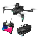 XMR/C M10 GPS 5G WIFI FPV With 6K HD Camera 3-Axis EIS Mechanical Gimbal Four-direction Laser Obstacle Avoidance Brushless Foldable RC Drone Quadcopter RTF
