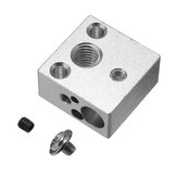 20*20*10mm All-Metal J-head Hotend Heating Block  For V6 Creality 3D Printer Bowden Extruder