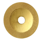 100mm Gold Glass Ceramic Granite Diamond Saw Blade Disc Cutting Wheel for Angle Grinder