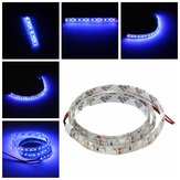 UV Ultraviolet Purple 3528 LED Flexible Strip Lamp White Light 12V Waterproof