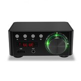 Mini wzmacniacz cyfrowy HiFi wzmacniacz bluetooth 5.0 RCA dźwięk stereo karta TF dysk U AUX bezstratny dźwięk potężny wzmacniacz cyfrowy do telewizora komputer