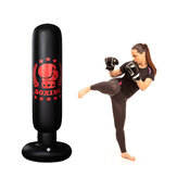 Sac de frappe gonflable debout libre de boxe 160CM Kick Training Boxing Training Sandbag pour adultes