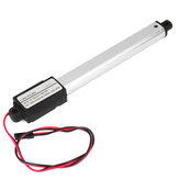 IP54 Linear Actuator 12V DC 100mm Stroke Electric Window Door Opener Linear Motor 30/15/9.5mm/s Speed