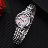NAIDU Casual Style Decorative Full Steel Ladies Wrist Watch