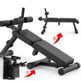 Miking pliant sit up banc planche de muscle abdominal banc d'haltères multifonctionnel 5 hauteur réglable Fitness Gym exercice à domicile