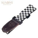 NAOMI Tracolla per chitarra regolabile Tracolla per spalla Cintura Per chitarra acustica / elettrica Accessori per parti di basso elettrico