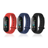 XANES M30 Vingerafdrukversie IP67 Waterdichte Smart Armband Hartslagmeter Smart Watch mi-band