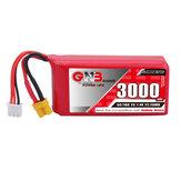 Gaoneng GNB 7.4V 3000mAh 5C 2S Lipo-batterij XT30 Plug voor Jumper T16/T18 RADIOMASTER TX16S-zender