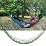 Nylon Woven 270x100cm Hammock Bed Single People Hammock Swing Camping Travel Garden Max Load 150kg