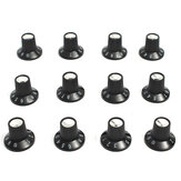 12 x Guitar AMP Knob Amplifier Skirted Knobs Volume Tone Control for Fender