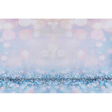 Blue Pink Glitter Bokeh Thin Vinyl Photography Backdrop Background Studio Photo Prop