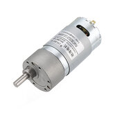Chihai GM37-550 12V 330/550/1650rpm Reduction Gear Carbon Brush High Torque DC Geared Motor