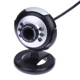 HD Video Webcam Web Camera USB 2.0 Kamepa Digital Cameras with Built-in Sound Microphone for Computer Laptop