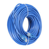 Cable Ethernet de 30m Azul Cat5 RJ45 Para Cat5e Cat5 RJ45 Internet Red LAN Conector de Cable