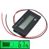 3Pcs 12V/24V/36V/48V 8-70V LCD Acid Lead Lithium Battery Capacity Indicator Digital Voltmeter